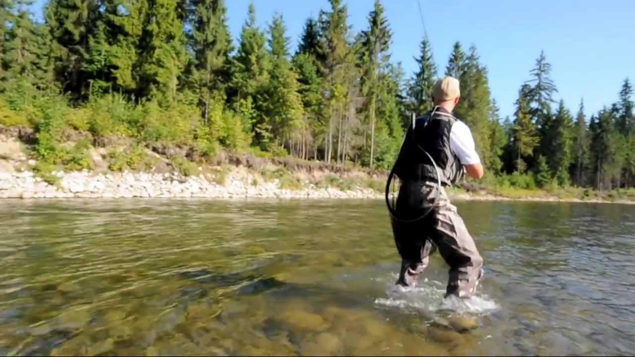 Wędkarstwo muchowe na górskich rzekach